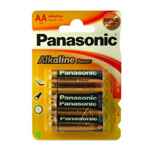 PANASONIC ALKALINE POWER AA elem