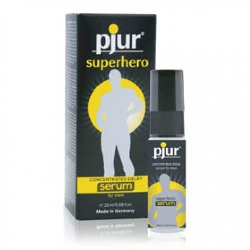 pjur Superhero concentrated delay Serum for men 20 ml (0,68