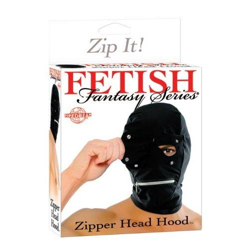Fetish Fantasy Zipper Head Hood szopóálarc