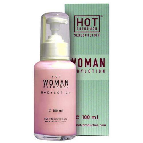 HOT WOMAN  -   Gyorsan beszívódó testápoló krém