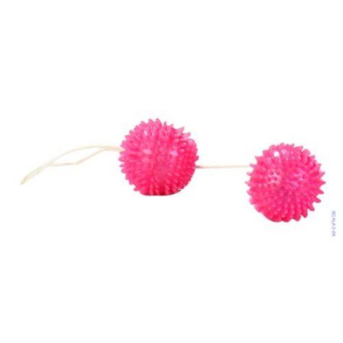 2 gésagolyó, pink