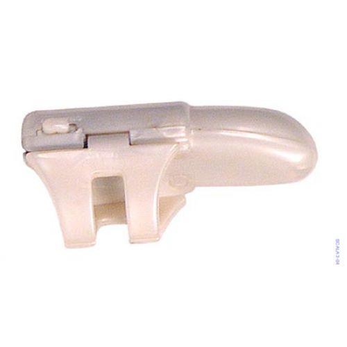 Ujjra csíptethető kemény anyagú klitorisz izgató vibrátor. (6 cm-es)