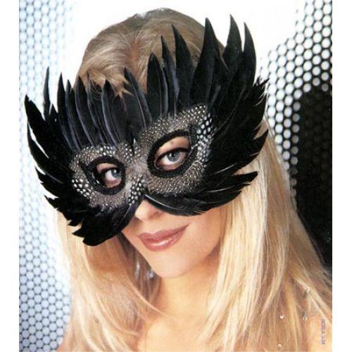 'Festiva Exotic' maszk, fekete
