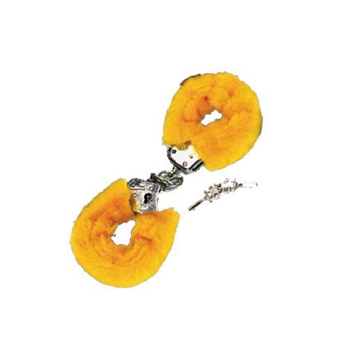 Csukló Plüss bilincs - sárga