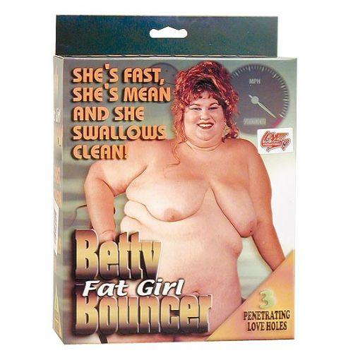 Betty a kövér lány guminő