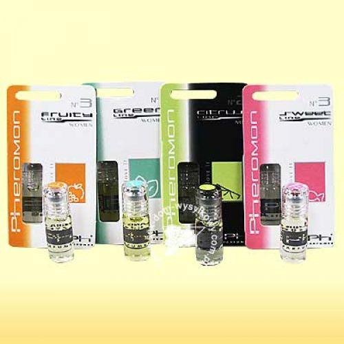 Pheromon Parfüm - műanyag (blister) csomagolás 3ml/ meskie Citrus 2