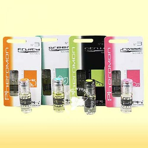Pheromon Parfüm - műanyag (blister) csomagolás 3ml/ férfi Woody 2