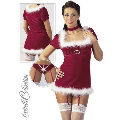 Karácsonyi miniruha szett - mikulásruha