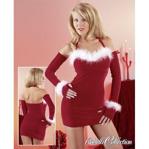 Karácsonyi miniruha - mikulásruha