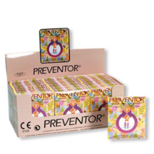 Preventor Tutti Frutti izesítésű condom 48x3 darab